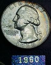 Washington Quarter 1960 AU - $9.04