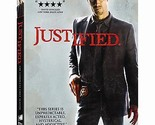 JUSTIFIED: SEASON 1 DVD - THE COMPLETE FIRST SEASON [3 DISCS] - NEW UNOPENED