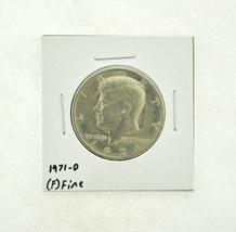 1971-D Kennedy Half Dollar (F) Fine N2-3467-6 - $0.99