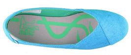 Etnies Women's Circe Eco W's Turquoise Blue Flats Mary Jane Canvas Shoes NIB image 6