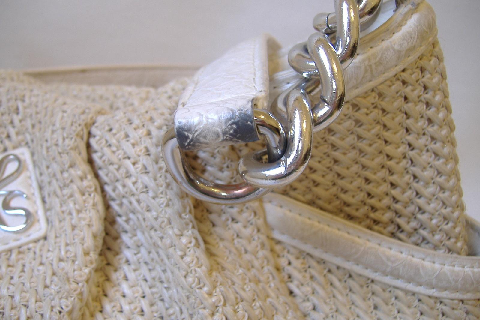 1f915c1000 Simply Vera Wang Hobo Purse Beige Off White Knit Shoulder Bag Handbag Tote  Lined