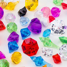 Diamond Confetti Wedding Party Table Scatter Decoration Jewels Gems Ice ... - $1.99+