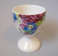 Egg Cup James Kent Staffordshire England Vintage Porcelain Floral Flower... - $49.00