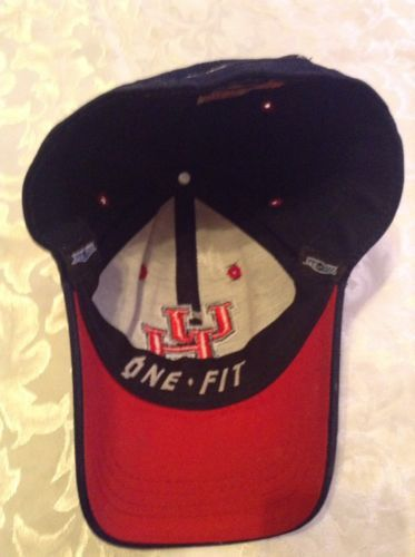 100% authentic 58028 541ab NCAA Football Houston Cougars hat cap Top of the World Youth One Fit blue  red