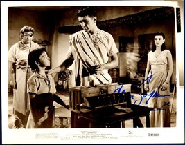 Jean Simmons VINTAGE HOLLYWOOD Hand-Signed The Egyptian Studio Photograp... - $29.99
