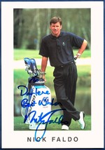 Nick Faldo No.1 Golfer Official World Golfing Ranking Autographed Signed... - $39.99