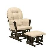 Nursery Glider Ottoman Rocking Chair Baby Room Decor Relax Lounge Seatin... - $238.93