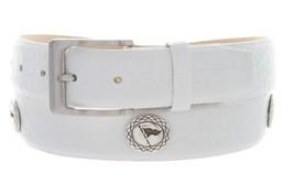 Grove Tournament - Men's Italian Calfskin Designer Dress Belt with Golf Conch... - $39.55