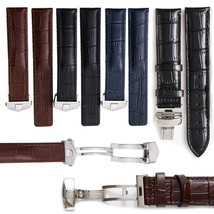 19-22mm Replacement Watch Band Strap Leather Made For Tag Heuer Carrera Monaco - $32.71+