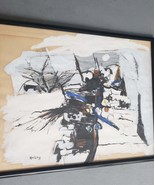 Rare & Original Signed HELING Abstract Contemporary Art Painting  - List... - $859.99