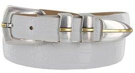 Marin Gold Genuine Italian Calfskin Leather Designer Dress Golf Belt for Men(... - $29.20