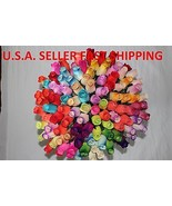 One Dozen Wooden Roses Buds -- Choose the color you want (#14 - #48) - $8.99