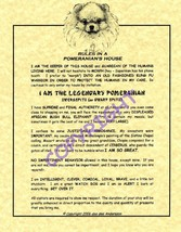 Rules In A Pomeranian's House - $20.70