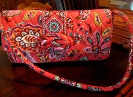 VERA BRADLEY Clutch Shoulder Bag - Front Knot Detail - MINT Condition Go... - $34.16