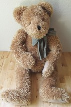 "2000 Boyds Bears ""Clem Cladiddlebear"" Large Stuffed Animal Plush Bear w/Bow 30"" - $124.95"