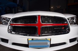 Grille Insert Graphic Vinyl for Dodge Charger Hemi Decal Accent Part 201... - $24.96