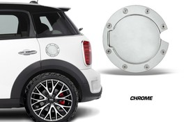Mini Cooper Custom Gas Cap Decal Sticker Accessories - CHROME Color Coun... - $9.96