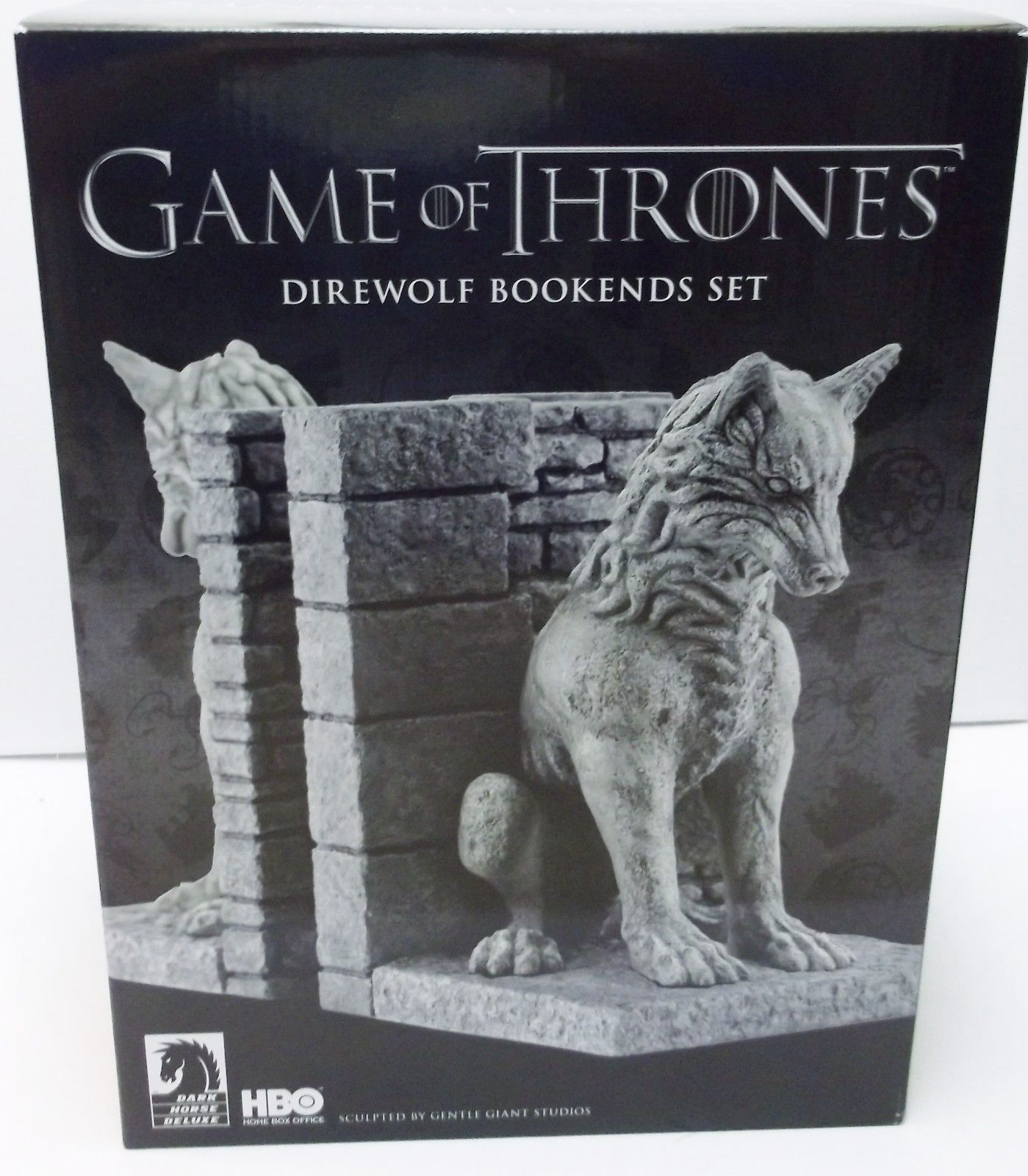 Game Of Thrones Direwolf Bookends Other