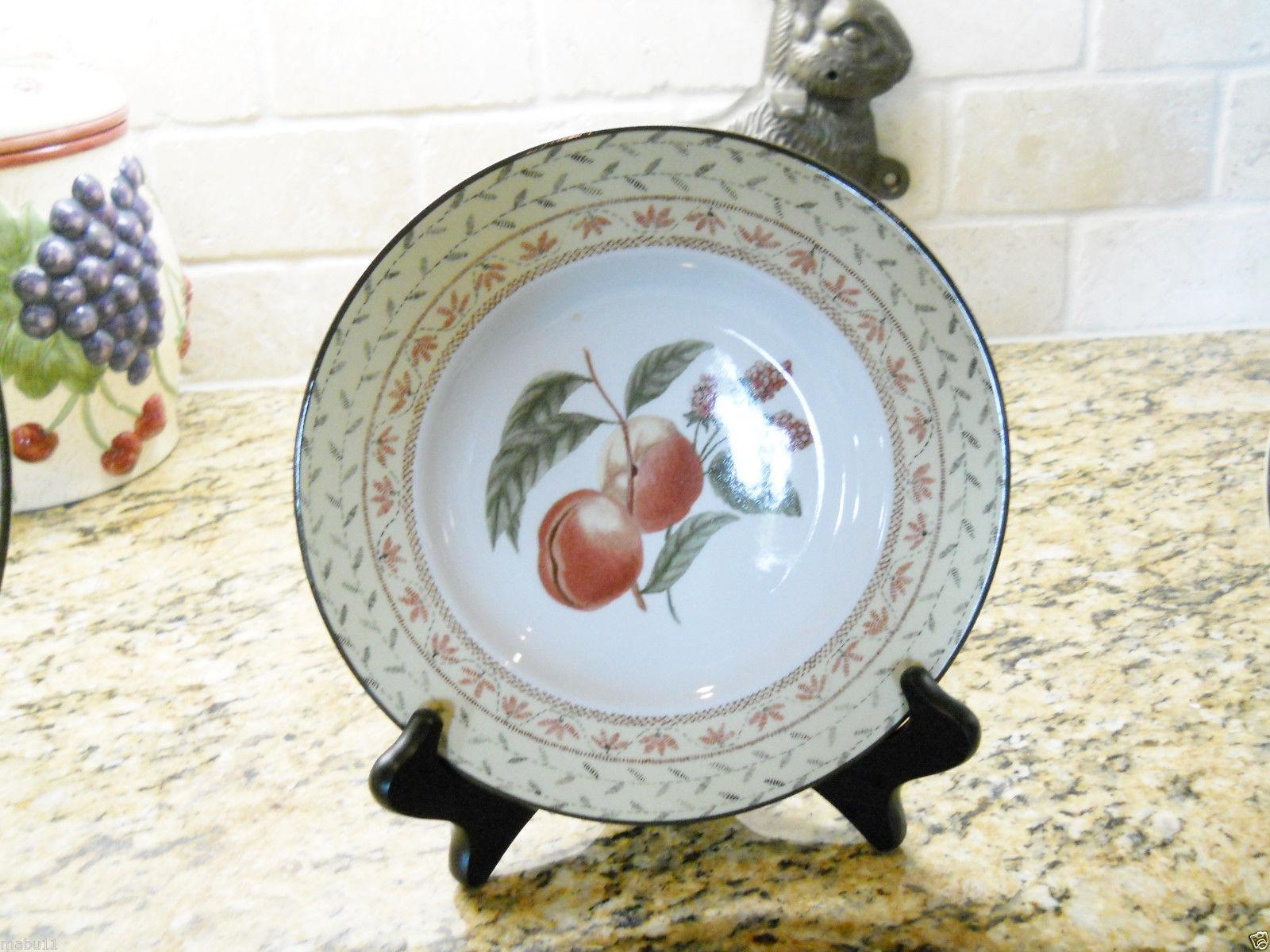 """Johnson Brothers Fruit Sampler Salad Plate 8 3/8"""" - $4.90"""