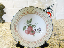"Johnson Brothers Fruit Sampler Luncheon Plate 9"" - $6.88"