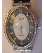 FIGARO COUTURE WATCH Rhinestone Filled Analog D... - $32.67