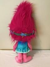 "Trolls Large Stuffed Animal Pink Plush Poppy 27"" Valentines Day Hug Dreamworks  - $24.99"