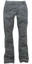 AEROPOSTALE Boot Cut Casual Cotton Pants Gray-NWT-Juniors Womens 3 / 4 -... - $14.18