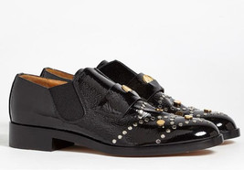 NEW CHLOE Glory Studded Leather Penny Loafers (Size 36) - MSRP $1,150.00! - $499.95