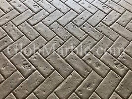 Stamp Mat. Herringbone Brick Pattern SM 4100. Stamped Concrete Stamp Brick - $99.00+