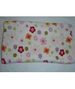 Circo Polyester Plush White Hot Pink Purple Yellow Flowers Baby Girl Bla... - $24.74
