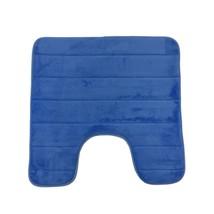 Weich Schaumstoff Blau Langlebig Rutschfest Badezimmermatte 50X50CM - $18.24