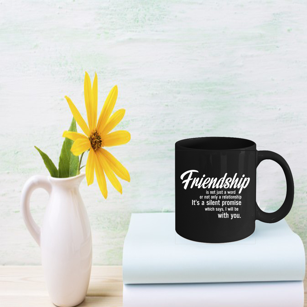 Primary image for Friendship Coffee Mug 11oz - Birthday Party Gift For Your Friend