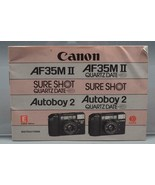 Vintage Canon AF35II Sureshot Autoboy 2 35mm Camera Instructions Manual - $31.93