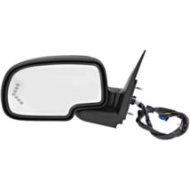 Fits 03-07 Silverado Sierra Left Driver Pwr Mirror W/Light, Heat, Signal,ManFold - $192.95