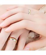 Couple Rings Gold Engagement Ring Men Women Alliance Casamento Alianca B... - $9.74