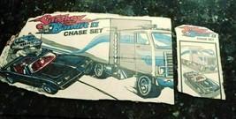 Vintage ERTL Smokey And The Bandit II Chase Set 1981 Box Litho Cardboard Cutouts - $26.39