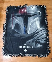 Star Wars Mandalorian Fleece Tie Blanket - $69.99