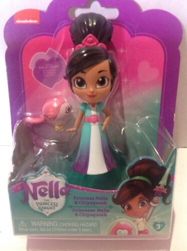 Primary image for Princess Nella And Chipsqueak Figure Nickelodeon Figure