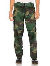 SW Men's Tactical Combat US Force Military Army Cargo Pants Trousers with Belt image 5