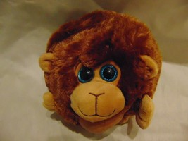 OTC Fat Plush Round Monkey Super Soft and Fluffy - $6.81