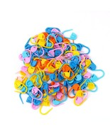 100 piece Locking Stitch Marker Set, Assorted Colors - $8.64 CAD