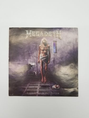 "Megadeath Countdown to Extinction Sticker 4.75"" x 4.75"" Original"