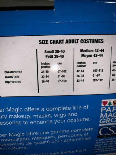 EUC Paper Magic Men Women Adult Medium YO GABBA GABBA Plex Halloween Costume