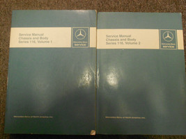 1973 1980 MERCEDES Chassis and Body Series 116 Service Repair Manual OEM SET - $108.10