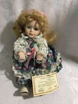 SOFT EXPRESSIONS ANIMATED WIND UP MUSICAL PORCELAIN DOLL - $0.01