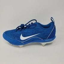 Nike Women's Lunar Hyperdimond 2 PRO 856492-401 Size 6 Blue Softball Cleats - $19.75