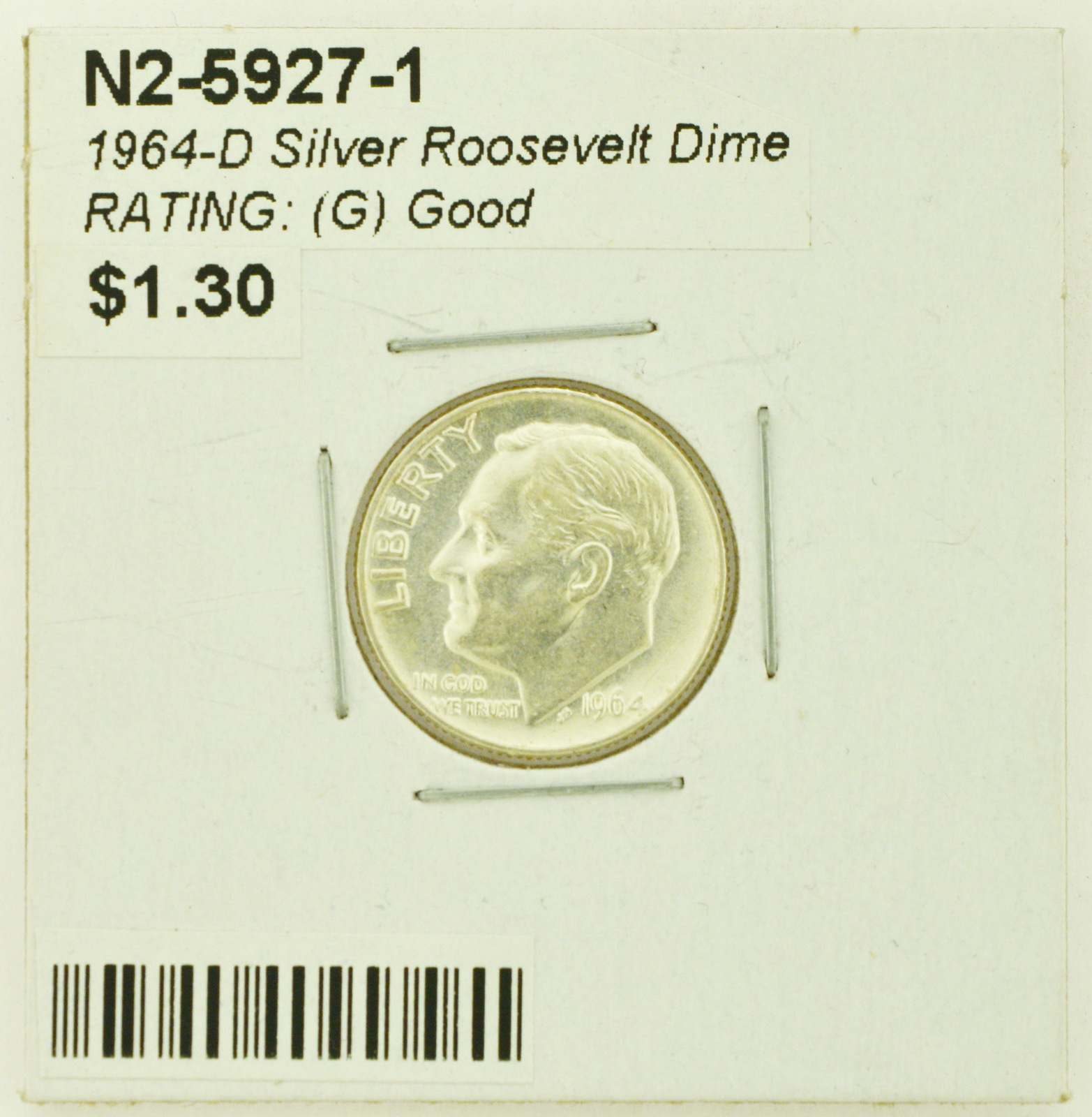1955 PDS 90/% Silver Roosevelt Dime BU Brilliant Uncirculated with Free Shipping