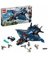 LEGO Marvel Avengers Endgame 76126 Ultimate Quinjet Thor Rocket 2019 NEW - $98.95
