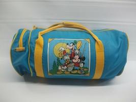 Vintage Mickey Mouse Express Kids Sleeping Bag w/ Duffel Damaged Walt Disney Co - $21.17
