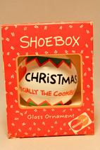 Hallmark - Shoebox - I Love Christmas (Mastercard) - Glass Ball 1992  Ornament - $10.06